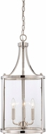 Savoy House 7-1040-3-109 Penrose Polished Nickel 12 Entryway Light Fixture