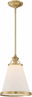 Savoy House 7-130-1-63 Ashmont Warm Brass Lustre Pendant Light