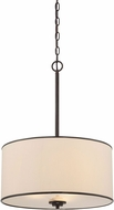 Savoy House 7-1502-3-13 Grove English Bronze Drum Lighting Pendant