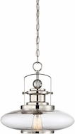 Savoy House 7-17000-1-109 Mayfield Contemporary Polished Nickel Pendant Lighting