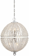 Savoy House 7-1771-9-11 Bourne Contemporary Polished Chrome Hanging Lamp