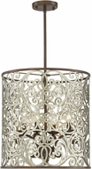 Savoy House 7-1911-4-152 Erhardt Monaco Drum Hanging Light