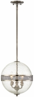 Savoy House 7-200-3-57 Stirling Contemporary Polished Pewter Mini Pendant Hanging Light