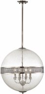 Savoy House 7-201-4-57 Stirling Contemporary Polished Pewter Drop Lighting