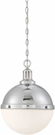 Savoy House 7-203-2-109 Lilly Contemporary Polished Nickel Pendant Light Fixture
