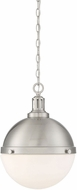 Savoy House 7-203-2-SN Lilly Contemporary Satin Nickel Pendant Hanging Light