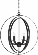 Savoy House 7-204-6-44 Dumont Modern Classic Bronze Drop Ceiling Lighting