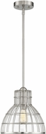 Savoy House 7-2100-1-SN Grant Satin Nickel Mini Hanging Pendant Light