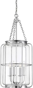 Savoy House 7-2138-4-11 Magnum Contemporary Polished Chrome Entryway Light Fixture