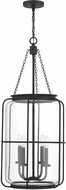 Savoy House 7-2138-4-89 Magnum Nautical Matte Black Foyer Lighting Fixture