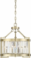 Savoy House 7-2140-3-127 Cologne Noble Brass Drum Ceiling Light Pendant