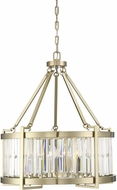 Savoy House 7-2141-5-127 Cologne Noble Brass Drum Ceiling Pendant Light