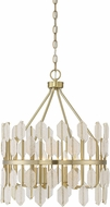 Savoy House 7-2160-4-127 Royale Contemporary Noble Brass 18  Pendant Lighting