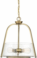 Savoy House 7-2180-3-322 Dash Contemporary Warm Brass Hanging Lamp