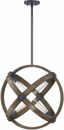 Savoy House 7-2610-4-68 Buckley Contemporary Whiskey Wood 21  Lighting Pendant