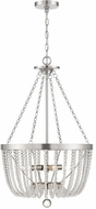 Savoy House 7-2851-4-154 Bergamo Antique Nickel Hanging Pendant Lighting