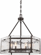 Savoy House 7-3040-6-13 Glenwood Contemporary English Bronze Drum Pendant Light