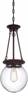 Savoy House 7-3300-1-28 Landon Oiled Burnished Bronze Mini Hanging Light