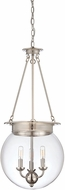 Savoy House 7-3301-3-109 Landon Polished Nickel Pendant Light Fixture