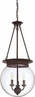 Savoy House 7-3301-3-28 Landon Oiled Burnished Bronze Pendant Lighting Fixture