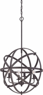Savoy House 7-4353-4-13 Dias Modern English Bronze Hanging Light