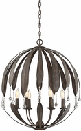 Savoy House 7-4442-6-64 Sussex Modern Fieldstone Hanging Chandelier