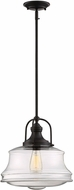 Savoy House 7-5012-1-13 Garvey Contemporary English Bronze Pendant Hanging Light