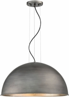 Savoy House 7-5014-3-85 Sommerton Contemporary Rubbed Zinc w Silver Leaf 24  Ceiling Light Pendant