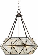 Savoy House 7-9009-5-28 Tartan Contemporary Oiled Burnished Bronze Drop Ceiling Lighting