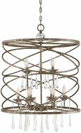 Savoy House 7-901-9-114 Trumbull Brittannia Gold Drum Pendant Lighting