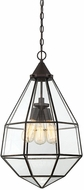 Savoy House 7-9017-3-13 Austen Modern English Bronze Mini Lighting Pendant