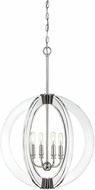 Savoy House 7-9161-4-109 Epsilon Modern Polished Nickel Pendant Lamp
