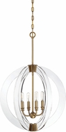 Savoy House 7-9161-4-322 Epsilon Contemporary Warm Brass Hanging Lamp