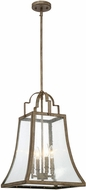 Savoy House 7-922-4-12 Belle Chateau Linen Pendant Lighting Fixture