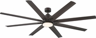 Savoy House 72-5045-813-13 Bluffton Contemporary English bronze LED Fan Light Fixture