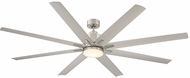 Savoy House 72-5045-8SV-SN Bluffton Contemporary Satin Nickel LED Home Ceiling Fan