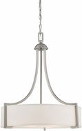 Savoy House 7P-7216-3-SN Terrell Contemporary Satin Nickel Hanging Pendant Light