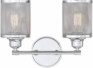 Savoy House 8-1075-2-11 Salvador Modern Polished Chrome 2-Light Bathroom Lighting