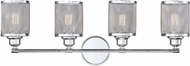 Savoy House 8-1075-4-11 Salvador Modern Polished Chrome 4-Light Bath Lighting