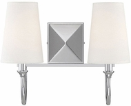 Savoy House 8-2542-2-109 Cameron  Polished Nickel 2-Light Lighting For Bathroom