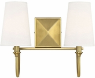 Savoy House 8-2542-2-322 Cameron Warm Brass 2-Light Bath Lighting