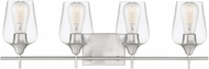 Savoy House 8-4030-4-SN Octave Contemporary Satin Nickel 4-Light Bath Sconce