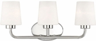 Savoy House 8-4090-3-109 Capra Polished Nickel 3-Light Bathroom Light Sconce