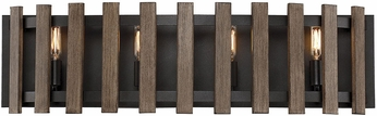 Savoy House 8-4103-4-133 Santiago Sapele 4-Light Vanity Lighting Fixture
