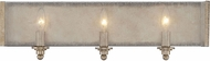 Savoy House 8-430-3-128 Chelsey Oxidized Silver 3-Light Bathroom Wall Sconce
