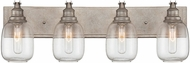Savoy House 8-4334-4-27 Orsay Modern Industrial Steel 4-Light Bath Lighting Sconce