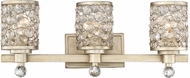 Savoy House 8-7015-3-100 Guilford Modern Aurora 3-Light Bathroom Wall Light Fixture