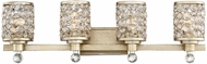 Savoy House 8-7015-4-100 Guilford Contemporary Aurora 4-Light Bathroom Lighting