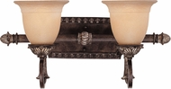 Savoy House 8-749-2-241 Grenada Traditional Moroccan Bronze 2-Light Bathroom Vanity Lighting