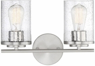 Savoy House 8-8020-2-11 Marshall Contemporary Polished Chrome 2-Light Vanity Light